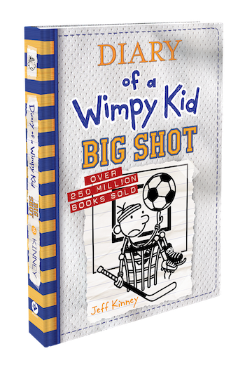 Diary of a Wimpy Kid BIG SHOT Giveaway
