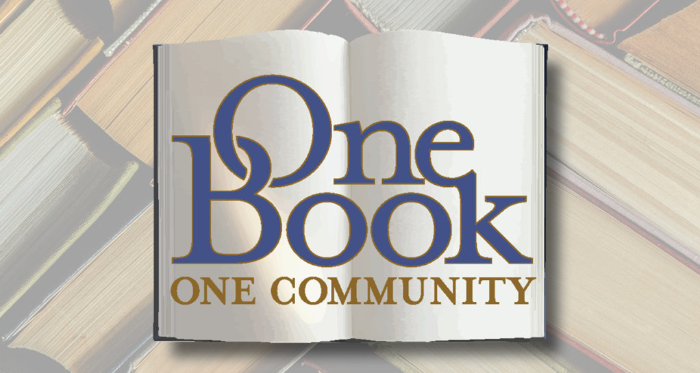 """JOIN JANUARY 2021 """"ONE BOOK, ONE COMMUNITY"""" READ"""