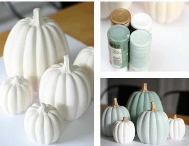 PAINT IT YOURSELF- Fall Pumpkin kit