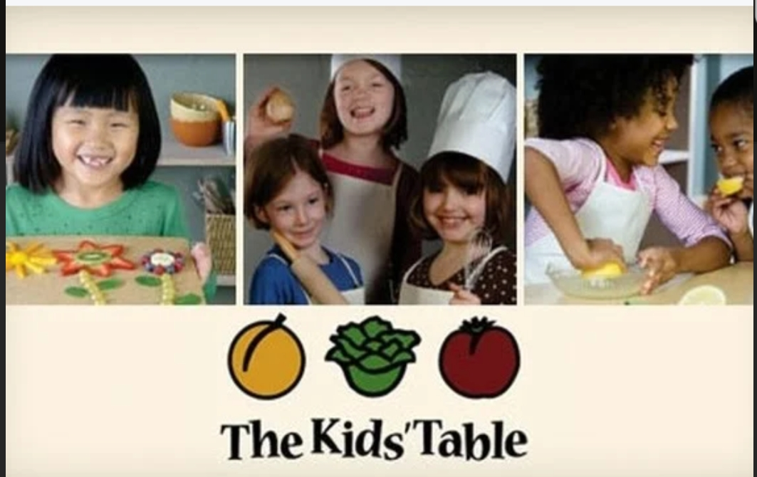 Kids/Tween Virtual Cooking Seminar with The Kids' Table on Zoom