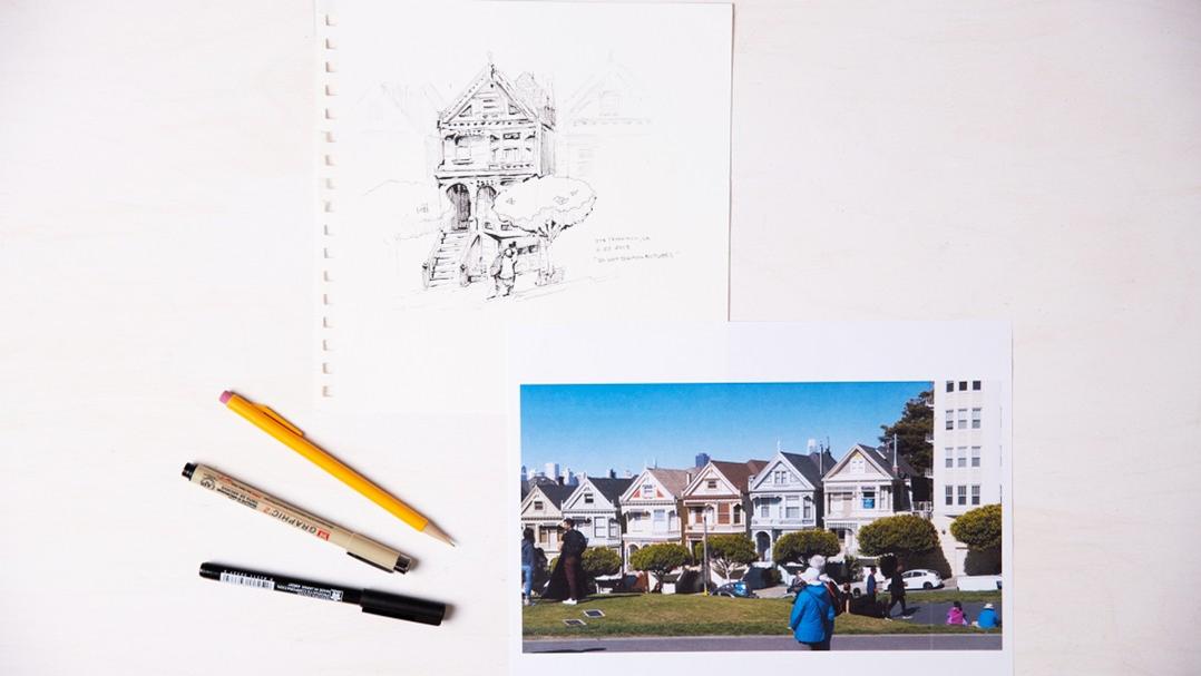 Urban Sketching 101 Kit for CREATIVEBUG Project