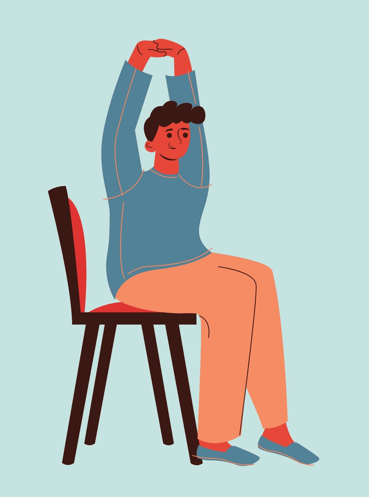 (Virtual) Chair Yoga