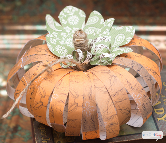 Adult Craft Kits - DIY Scrapbook Paper Pumpkins